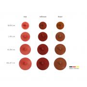 sehr natürliche Brustwarzen Farbton rot