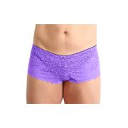 Gaff - Panty mit Spitze violett